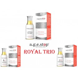 ROYAL TRIO FROM A.G.E STOP...
